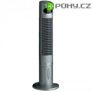 Věžový ventilátor CasaFan Airos Cool, 70 W, 35,8 x 113,5 cm, stříbrná