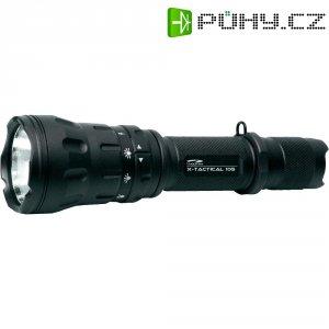 Kapesní LED svítilna LiteXpress X-Tactical 105, LXL448001, černá