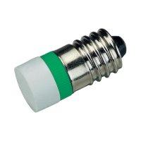 LED žárovka E10 Signal Construct, MWCE22469, 60 V, modrá
