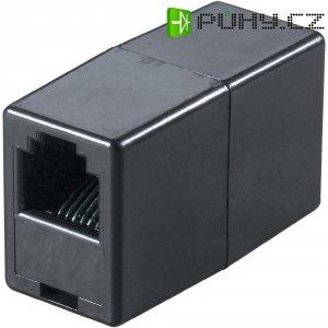 ISDN adaptér [1x RJ11 zásuvka 6p4c - 1x RJ11 zásuvka 6p4c] 0 m černá