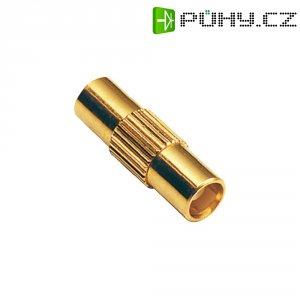 MCX zástrčka/zástrčka BKL 416300, 50 Ω, adaptér rovný