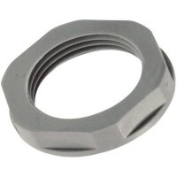 Pojistná matka LappKabel SKINTOP® GMPL-GL-M M40, polyamid, světle šedá (RAL 7035), 1 ks