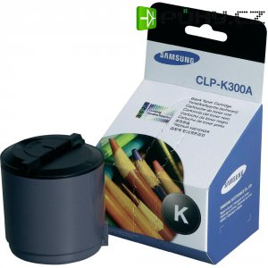 Originální toner Samsung CLP-K300A, CLP-K300A/ELS, 2000 stránek, černá