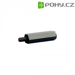 Vymez. svorník M4 vnitřní/vnitřní, otvor klíče 8 - 15 mm