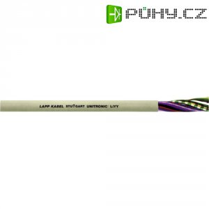 Datový kabel UNITRONIC LIYY 2 x 0,25 mm2, křemenná šedá