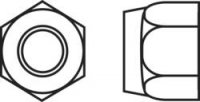 Pojistné matice Toolcraft, M8, pozinkovaná ocel, 10ks