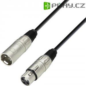 XLR kabel, XLR(F)/XLR(M), 10 m, černá