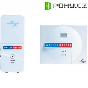 Bezdrátový detektor hladiny vody s telefonním voličem m-e, 118190, 9 V, 85 dBA