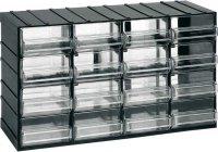 Závěsná skříňka stohovací 382x230x148mm - 16 krabiček