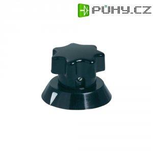 Univerzální otočný knoflík OKW, 6 mm, černá