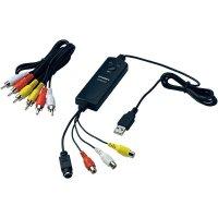 USB převodník videa z analogového do digitálního záznamu, Terratec Grabby 10620