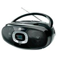 Rádio s USB, CD,FM/AM, Dual 72564, černá