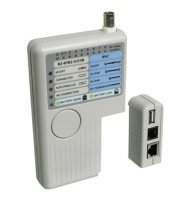 Tester kabelu CAT, USB, BNC line tester