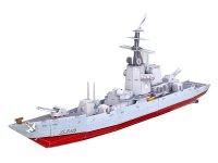 Puzzle 3D Bitevní loď fregata velká, křižník, papírové