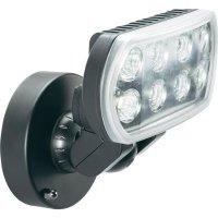 Venkovní LED reflektor, 8x 1 W , studená bílá