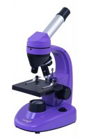 Mikroskop LEVENHUK RAINBOW 50L NG fialová