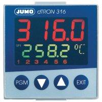 Panelový termostat JUMO dTRON 316, 110 - 240 V/AC, 45 x 45 mm
