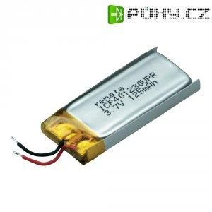 Akumulátor Li-Pol Renata, 3,7 V, 130 mAh,ICP401230UPR