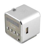 Rádio přenosné TD-V26 stříbrná