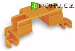 Upevňovací adaptér Wago 243-112 pro sérii 243, oranžová