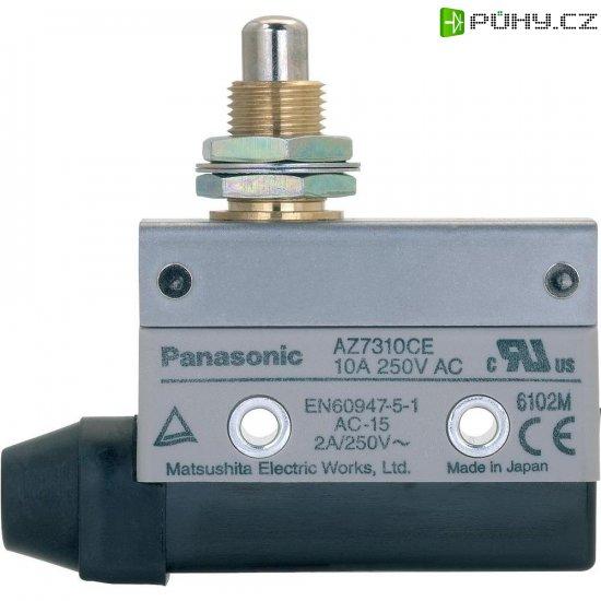 Koncový spínač Panasonic, AZ7310CEJ, 115 V/DC, 250 V/AC, 10 A - Kliknutím na obrázek zavřete
