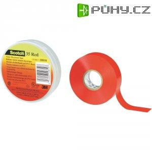 Izolační páska 3M, 80-6112-1156-8, SCOTCH 35 (19 mm x 20 m), červená