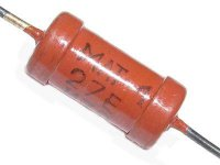 120R MLT-1, rezistor 1W metaloxid