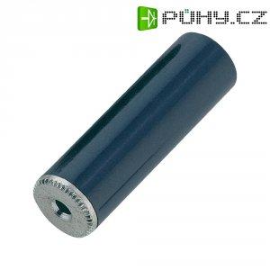 Jack konektor 2,5 mm mono, zásuvka rovná, 2pól, černá