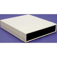 Polystyrolové pouzdro Hammond Electronics, (d x š x v) 134 x 135 x 50 mm, šedá
