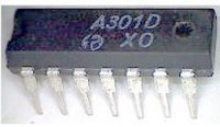 A301D - spínací obvod, DIL14 /TCA205A/