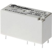 Nízké násuvné relé/relé pro desky plošných spojů, série 41 12 V/DC Finder 41.61.9.012.0000