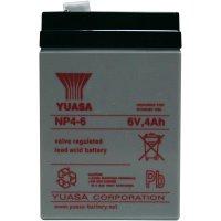 Olověný akumulátor, 6 V/4 Ah, Yuasa NP