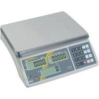 Počítací váha Kern max. váživost 6 kg rozlišení 0.5 g stříbrná