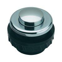 Zvonkové tlačítko Grothe Protact 62033, max. 24 V/1,5 A, chromovaná mosaz