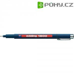 Popisovač edding 1800 - černá 0,25 mm