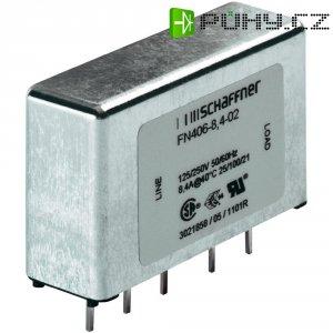 Odrušovací filtr Schaffner FN 406-0.5-02, 250 V/AC, 0,5 A