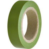 Izolační páska HellermannTyton HelaTapeFlex 15, 710-00103, 15 mm x 10 m, zelená