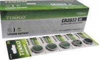 Baterie TINKO CR2032 3V lithiová, balení 100ks