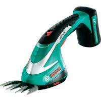 Akumulátorové nůžky na trávu Bosch AGS 7,2 Li, 0600856000