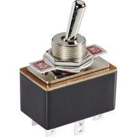 Páčkový spínač SCI R13-4-05, 250 V/AC, 1.5 A, 2x zap/zap, 1 ks