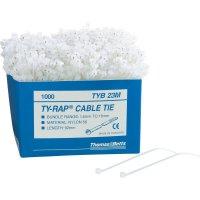 Stahovací pásky Ty-Rap ABB TYB25MX, standardní verze,uzávěr, 186 mm, 1000 ks