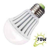 Žárovka LED A60 E27/230V 9W - bílá teplá (800lm)