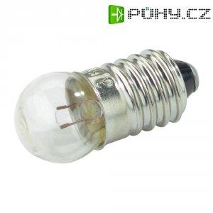Kulatá žárovka Barthelme, 6 V, 1,98 W, 330 mA, E10, čirá