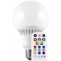 LED žárovka Müller Licht, E27, 8 W, 230 V, teplá bílá, RGB