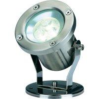 Zahradní reflektor SLV Nautilus LED 304 B, teplá bílá
