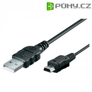 Datový kabel s mini USB, 47712, 1,5 m