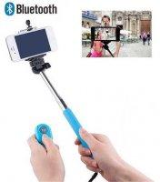 Držák - teleskopická tyč 22-106cm pro focení selfie s ovládáním