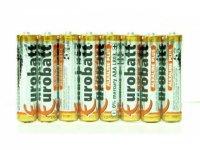 Baterie LR3 AAA (R03) EUROBATT Alkaline Plus, 8ks