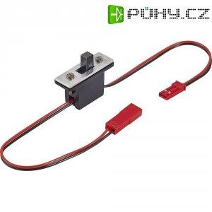 Vypínač s BEC konektory Modelcraft, 0,14 mm²