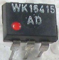 WK16415-1 optočlen, CTR 0,1...6 DIL8 červená tečka